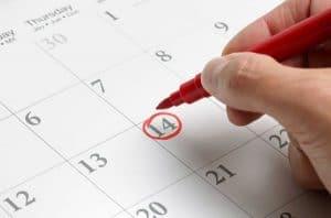 Определяне дата на преместване